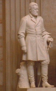 Statue of Ulysses S. Grant inside the Capitol
