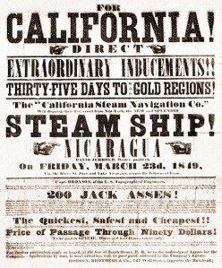 Gold Rush Flyer (Source: Uncyclomedia Commons)