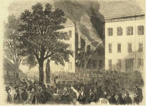 The New York City draft riots (Source: New York City Draft Riots Blog)