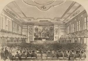 1860 DNC in Charleston, SC (Source: Wisconsin Historical Society)