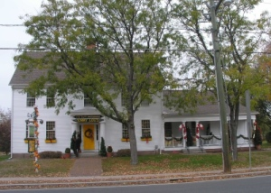 Gideon Welles House (Source: Historic Buildings of Connecticut)