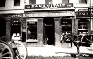 The old Bank of Italy in San Francisco (Source: ItaloAmericano.com)
