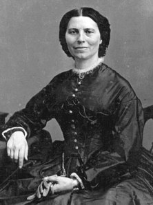Clara Barton, founder of the Red Cross (Source: National Park Service)