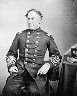 "Admiral David Farragut famously said, ""Damn the torpedoes."" (Source: NPS.gov)"
