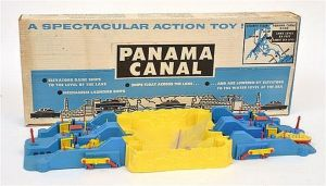 Another photo of the Panama Canal toy (Source: Ebay.com)