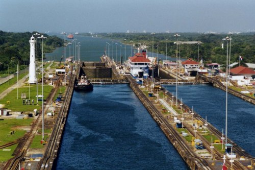 The Panama Canal (Source: Wikipedia.org)