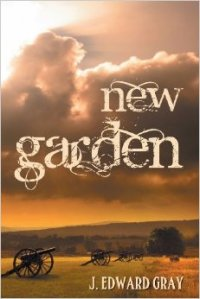 Cover of my first book, New Garden