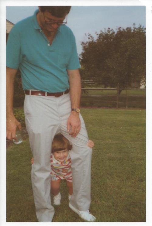 Me and my girl circa 1988.