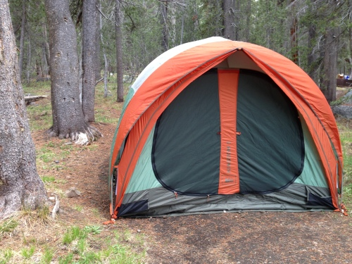 My tent in Yosemite