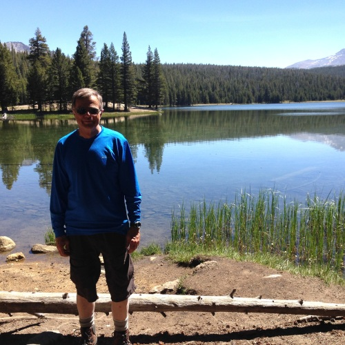 Me at Dog Lake
