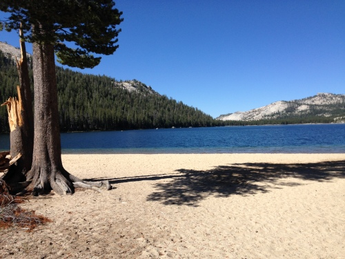 Eastern shore of Tenaya Lake